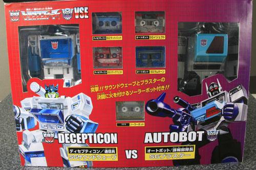 Transformers News: New e-Hobby / TFCC SG Soundwave Vs. Blaster Images