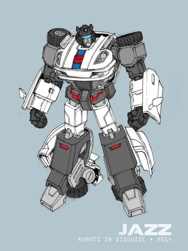 andrew griffith shares transformers robots in disguise