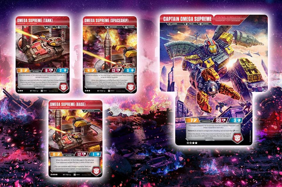 Transformers TCG Backfire set of 3
