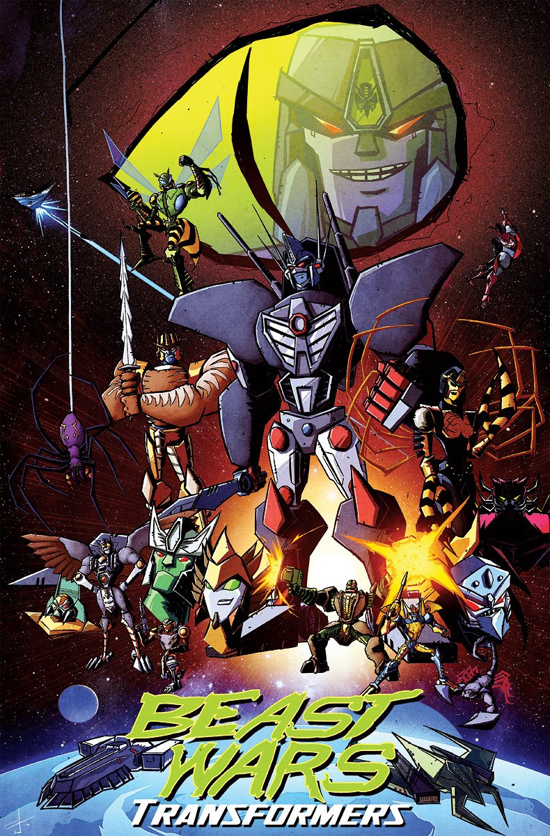 Botcon 2016 Art Prints Josh Burcham On Beast Wars And