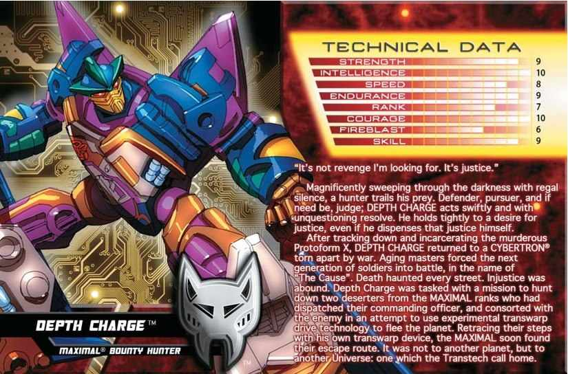 transformers 2013 tfcc depthcharge misb