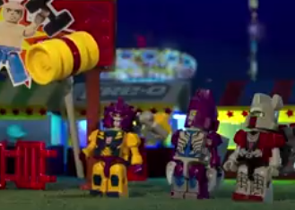 """Transformers News: KRE-O """"Carnival Face Off"""" Think Like a KREON Stop Motion Video"""