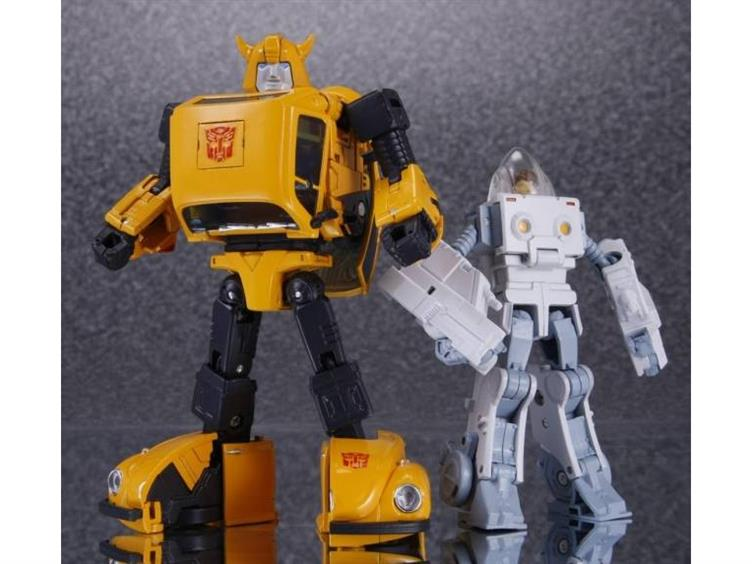TRANSFORMERS MP-21 BUMBLEBEE /& EXCEL SUITE w// COIN /& AMAZON MASK BATTLE FACE
