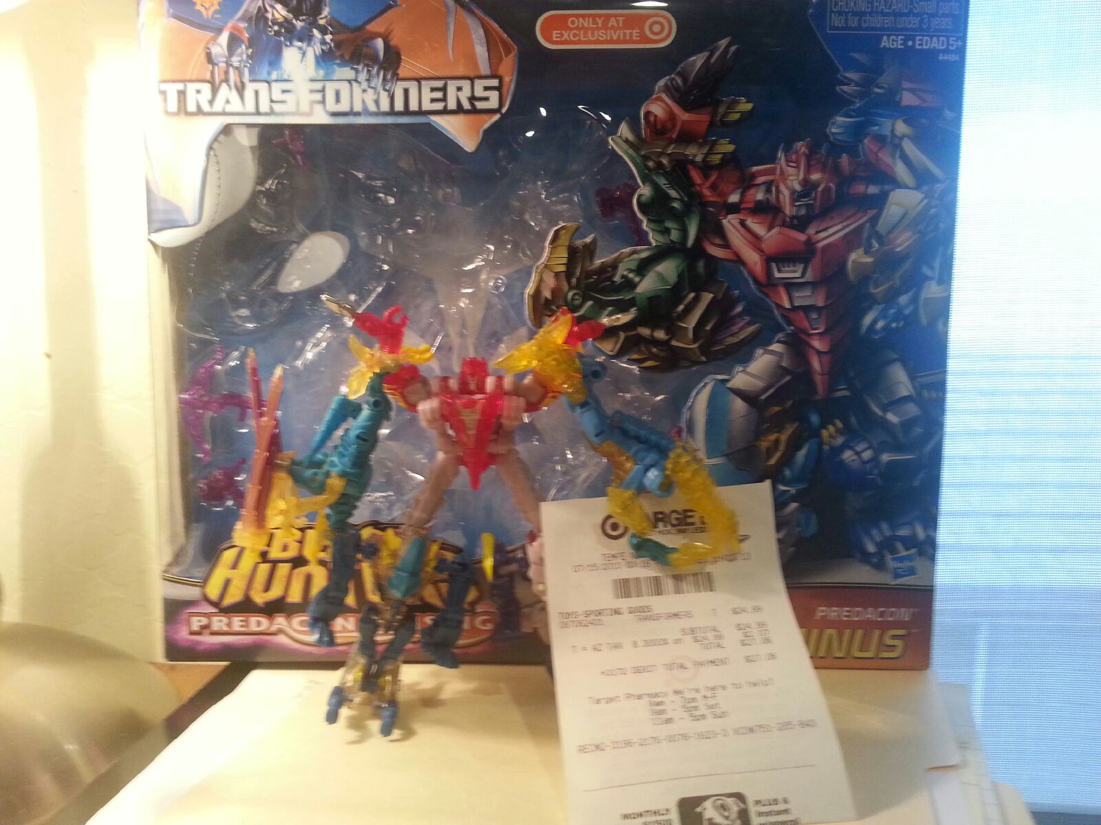 Transformers News: Transformers Prime Beast Hunters Target Exclusive Predacons Rising Abominus Set Sighted at Retail