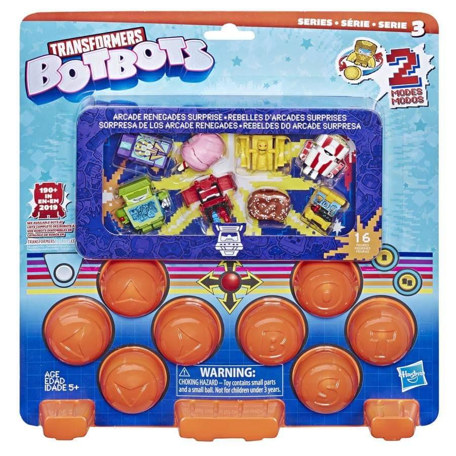 TUTU PUFFZ Transformers BotBots Series 3 Arcade Renegades cotton candy 2019