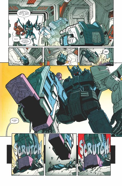 Transformers: More Than Meets The Eye Ongoing #15 Creator Commentary with James Roberts