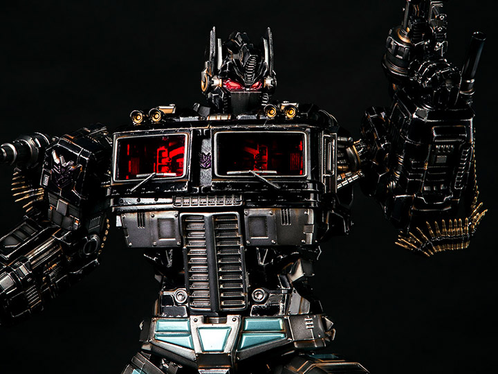 PEW PEW GUN By Shell 1//6 Black Toys  Mechanical Humanoid Body DIY Version Gifts