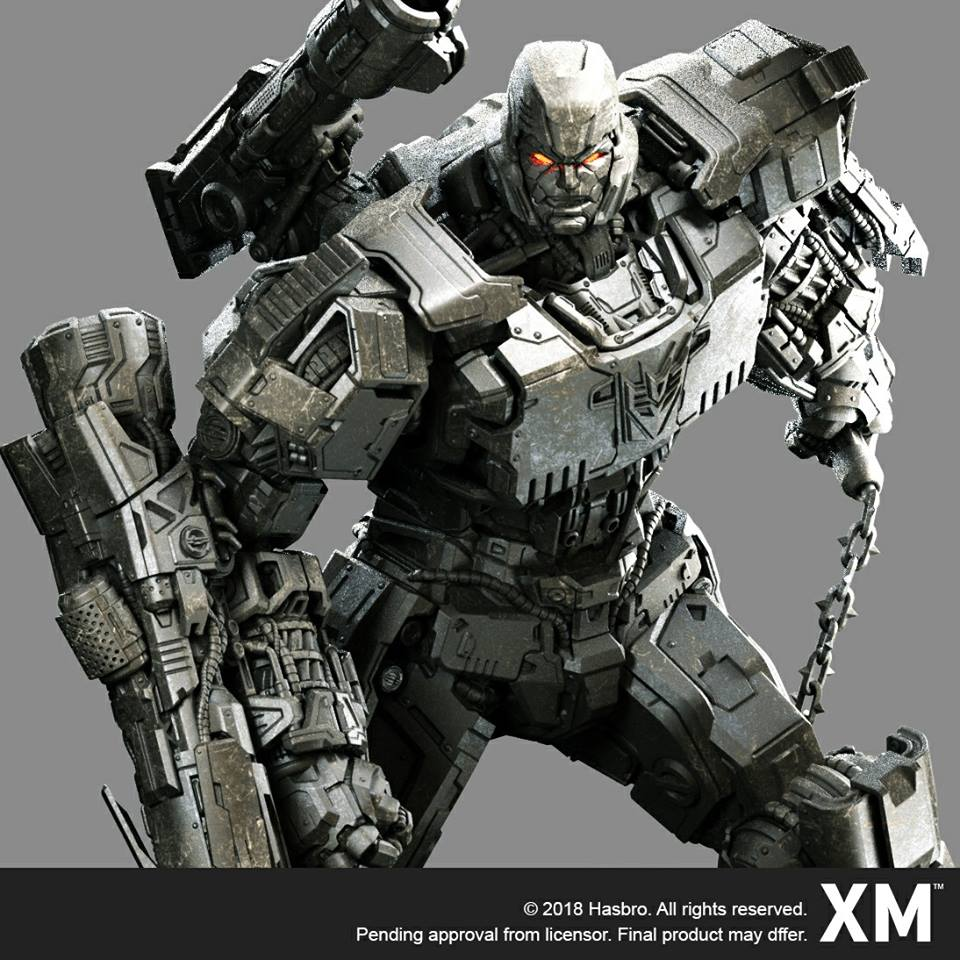 xm studios 1 10 scale megatron coming transformers. Black Bedroom Furniture Sets. Home Design Ideas