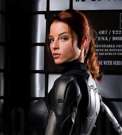 Redhead from gi joe movie