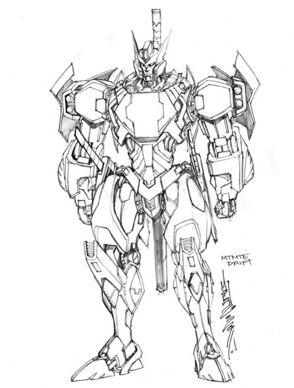 more transformers  mtmte concept art from alex milne