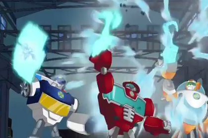 Transformers News: New Hub Network Promo Featuring the Transformers: Rescue Bots