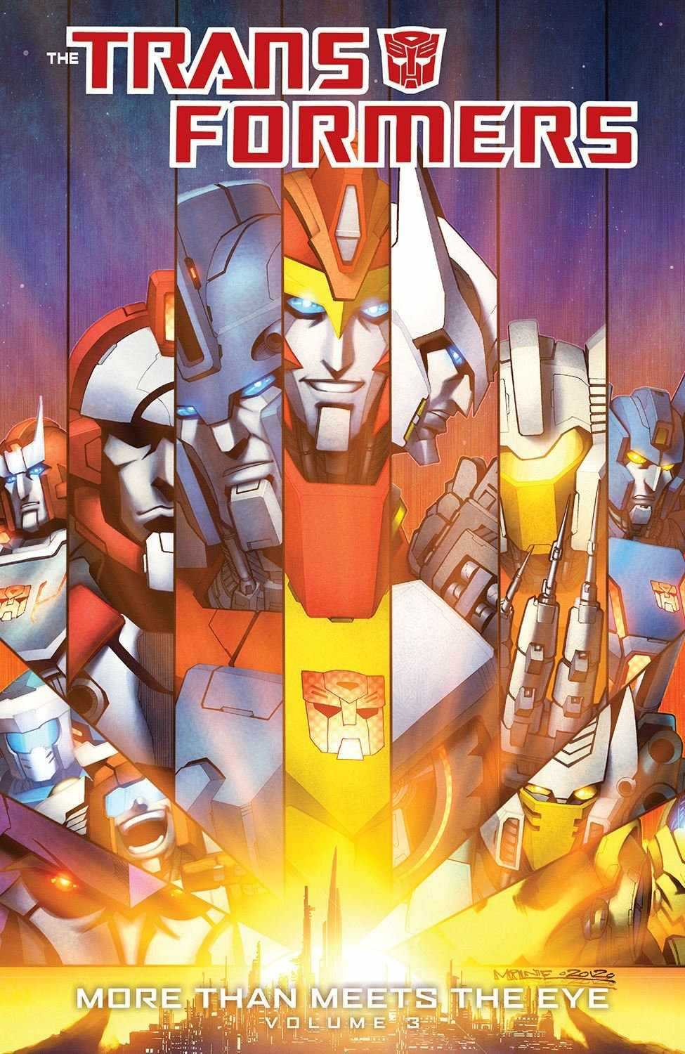 Transformers News: Transformers: More Than Meets The Eye Volume 3 Cover Revealed