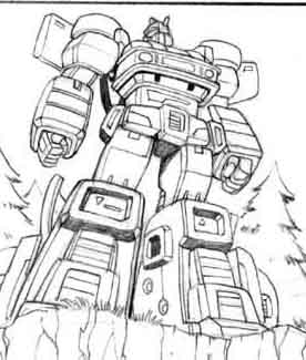 Unpublished guido guidi transformers g1 and energon art for Transformers g1 coloring pages