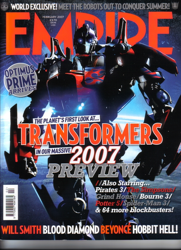 Empire Magazine Cover A