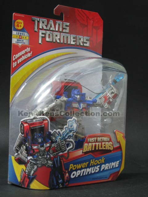Movie Fast Action Battlers Optimus Prime