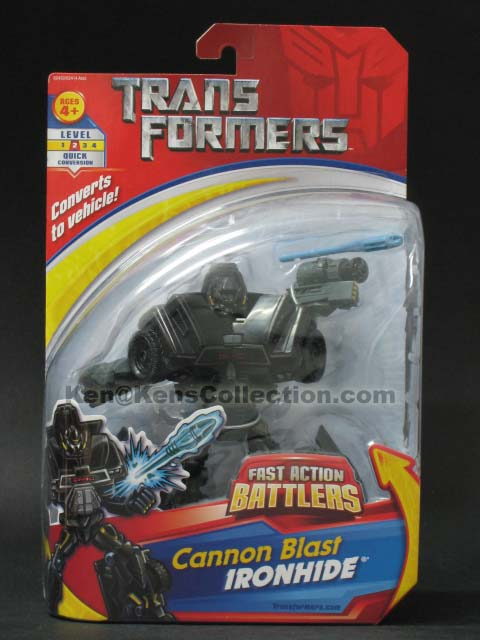 Movie Fast Action Battlers Ironhide