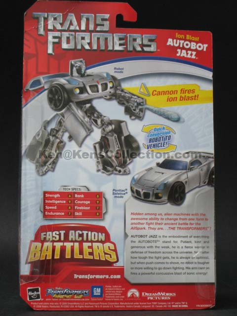 Movie Fast Action Battlers Jazz