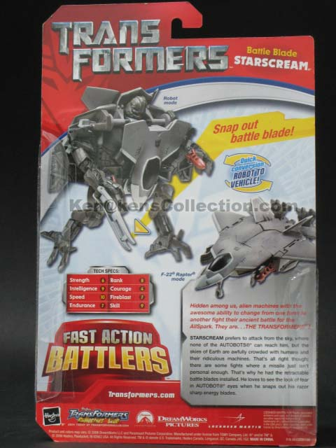 Movie Fast Action Battlers Starscream