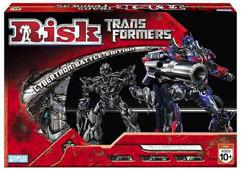 News: First Look at Transformers Movie Chess and Risk Games