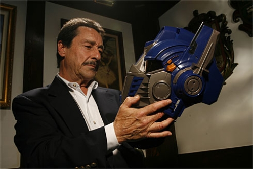 Transformers News: Transformers: Age of Extinction - More Peter Cullen on Optimus Prime