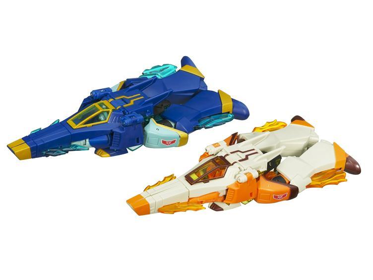 Jetfire and Jetstorm Hasbro Transformers Animated  Pack