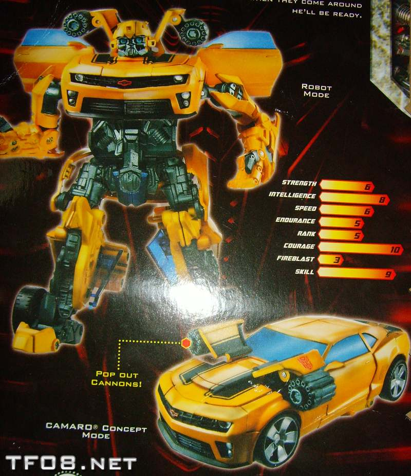 First Look at new ROTF Bumblebee Retool and More!
