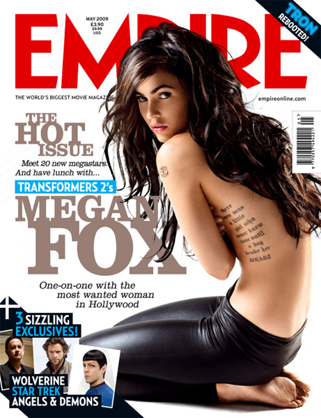megan fox tattoos side. symbol tattoo. Megan Fox