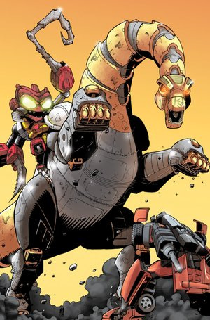 Maximum Dinobots #4- Four Page Preview And More!