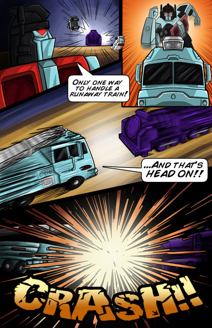 TFCon Script Reading Prelude Comic Images Available