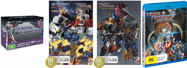 Madman Transformers Complete DVD Collections