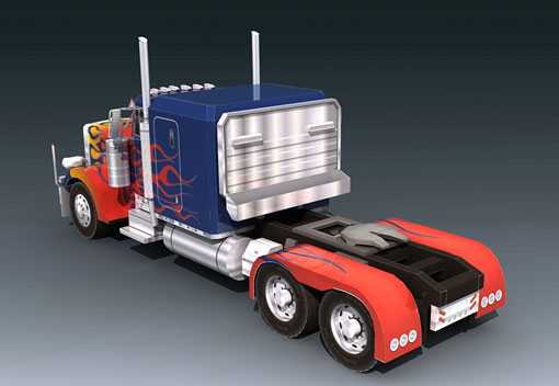 Re: Paper Replica - Optimus Prime Peterbilt Truck