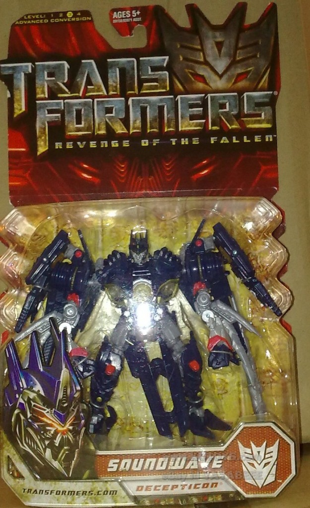 RUMOR: Meeting at Nemesis Soundwave... Now Sold Separately?
