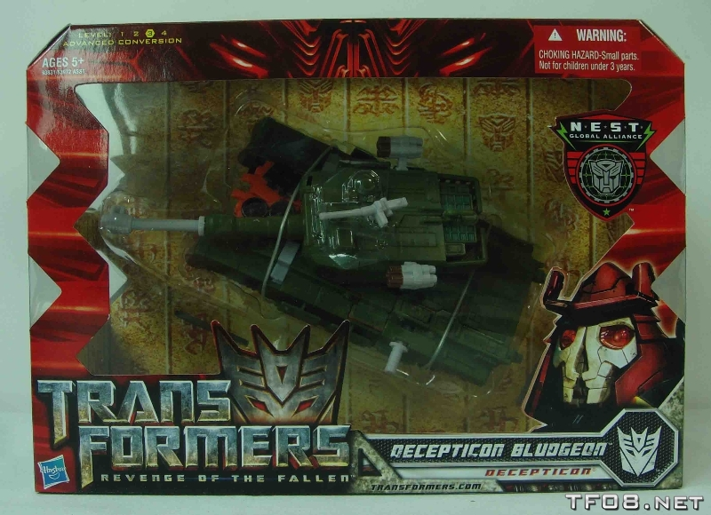 New In Box Images of ROTF Voyager Bludgeon