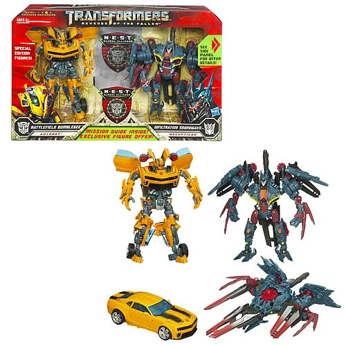 In Package Image of NEST Bumblebee and Soundwave plus Mail In Offer?