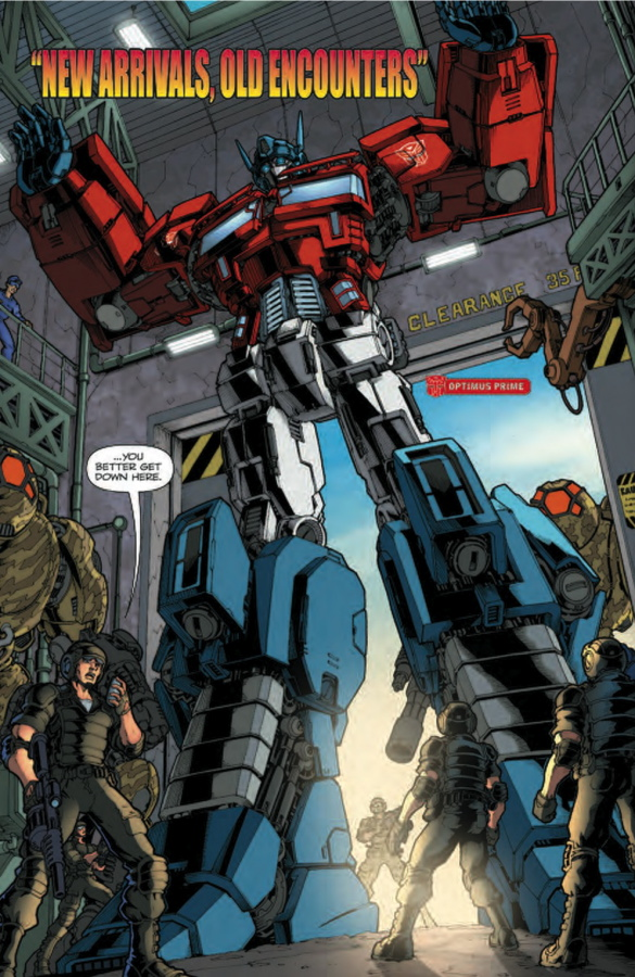 Transformers 'Ongoing' #2 Five-Page Preview