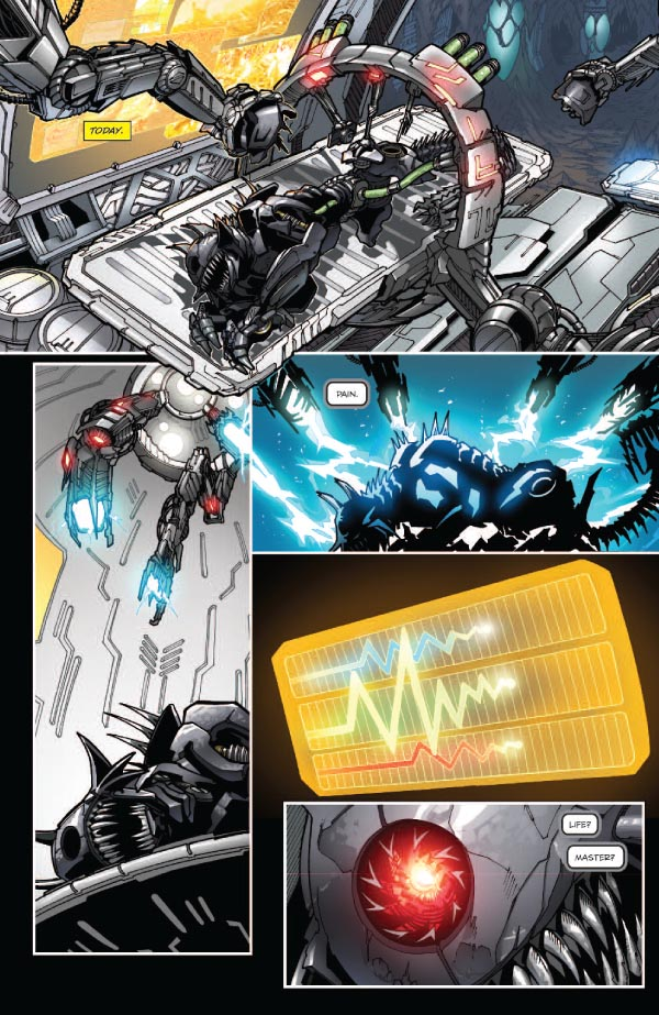 5 Page Preview of Transformers: Tales of the Fallen #5