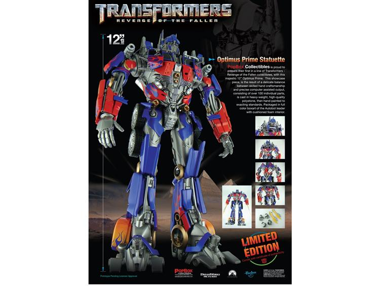 "First Look at Popbox Collectibles 12"" ROTF Optimus Prime Statue"