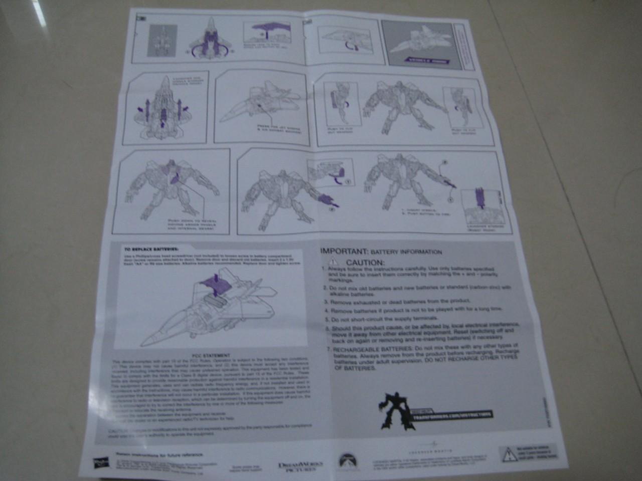 hasbro ultimate bumblebee instructions