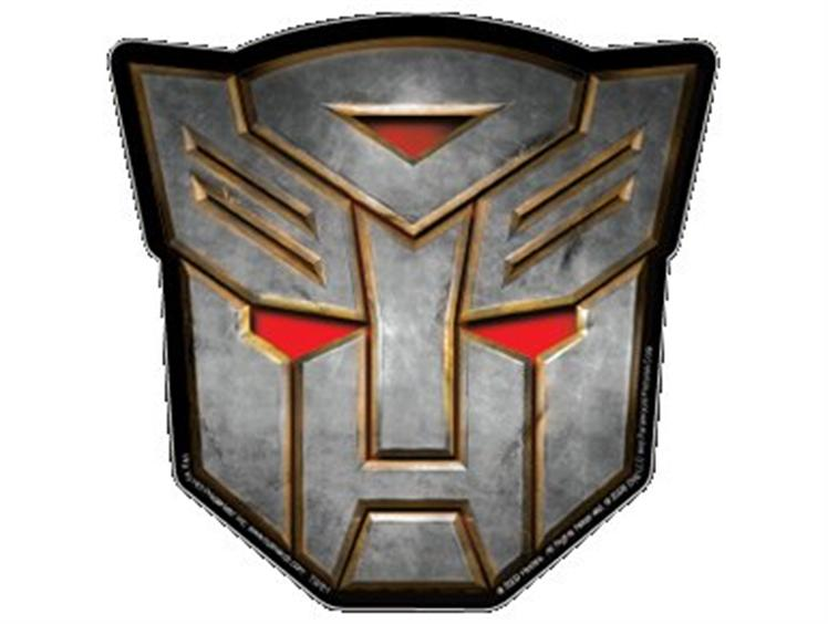 Autobot Decepticon Logo Car Magnets And Shield Stickers