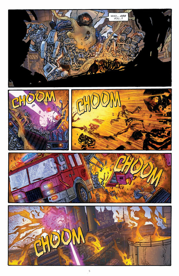 Transformers Rising Storm Five Page Preview