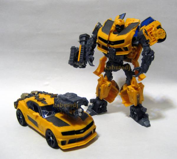 New Images of Transformers DOTM Nitro Bumblebee