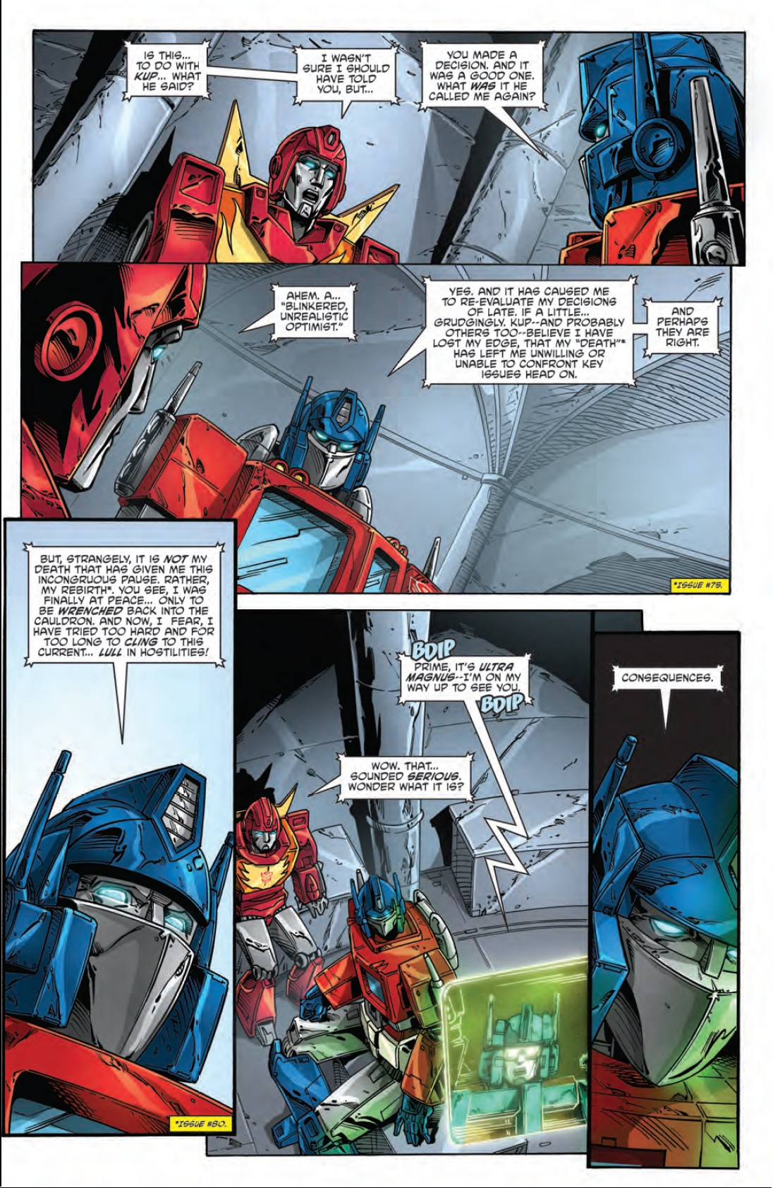 Transformers: Regeneration One #83 Preview
