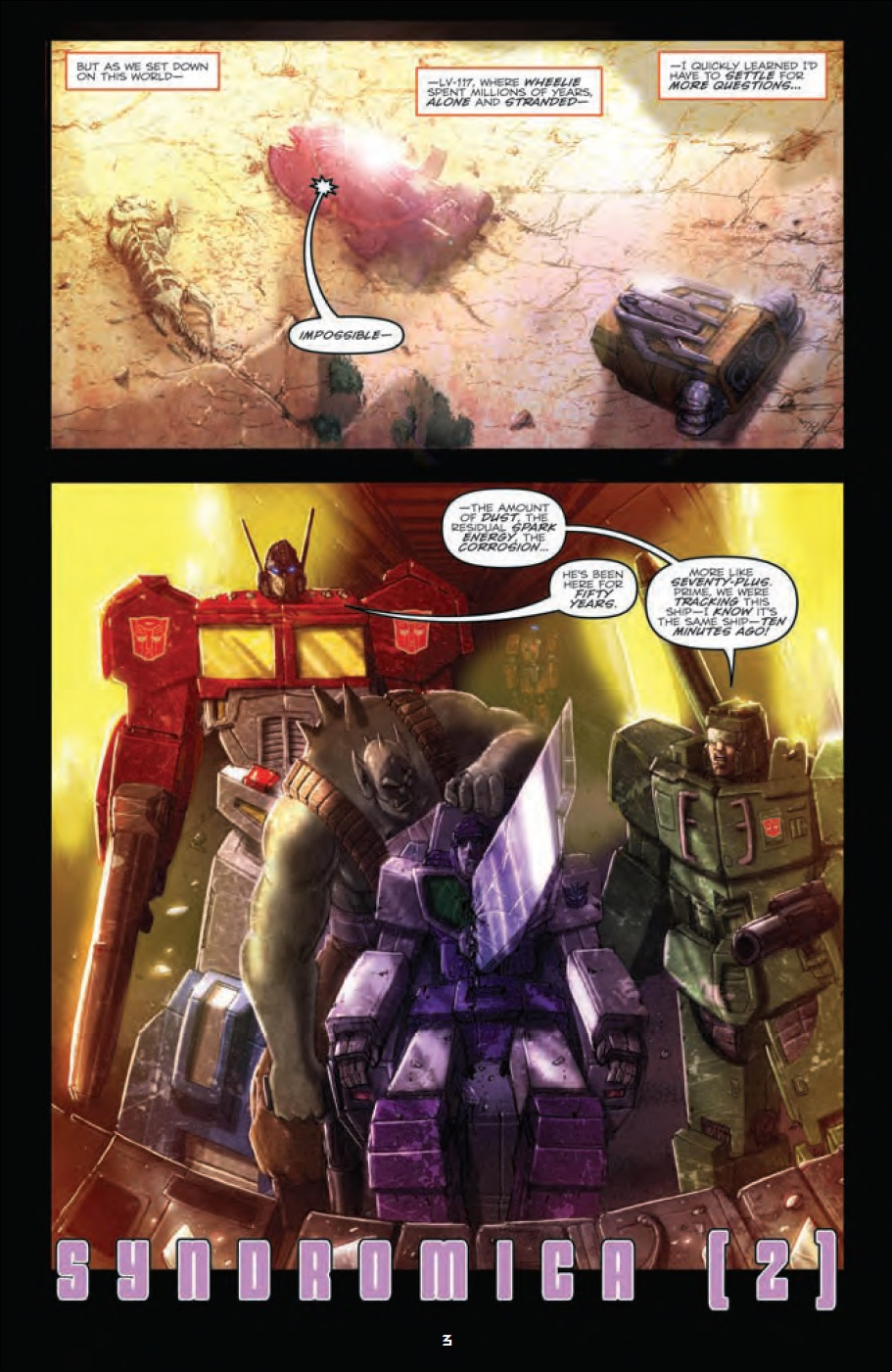 Transformers: Robots In Disguise Ongoing #10 Preview