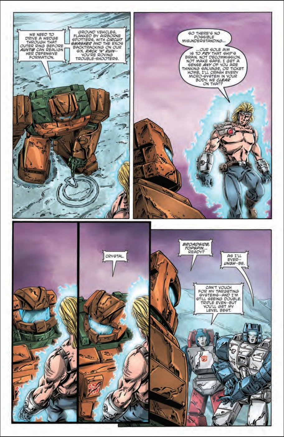 Transformers: Regeneration One #84 Preview