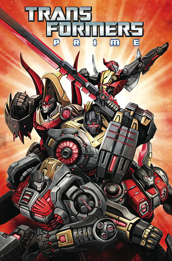 IDW May 2013 Transformers Solicitations