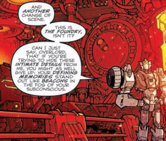 Transformers: More Than Meets The Eye #14 Review - Guess who's back, back again!