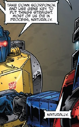 Re: Transformers: Regeneraion One #89 Preview