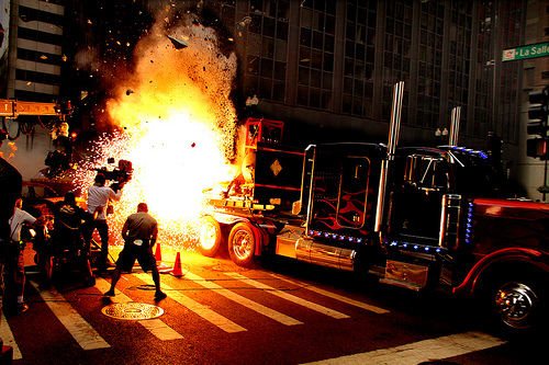 Michael Bay's Flickr Shows Us A Peek Behind The Scenes During DOTM