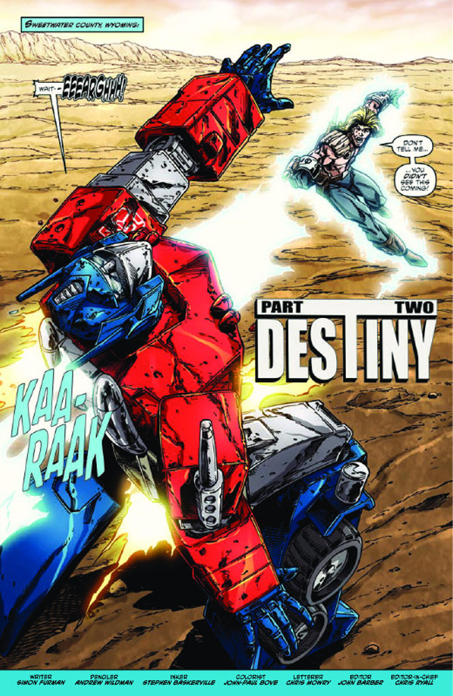 Transformers ReGeneration One #92 Preview
