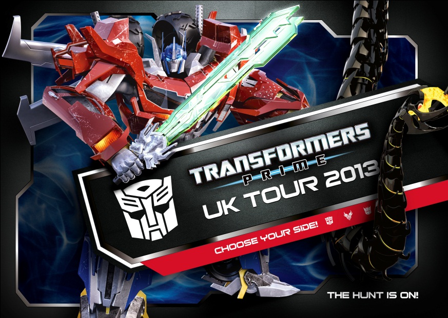 The Hunt is On - Transformers Prime Beast Hunters UK Tour